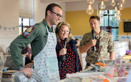 Find out how you can get involved with the BFBS Big Salute and raise much needed money for great charity causes.